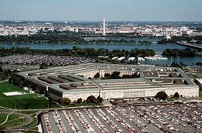 Budova Pentagonu, sídla Ministerstva obrany USA.