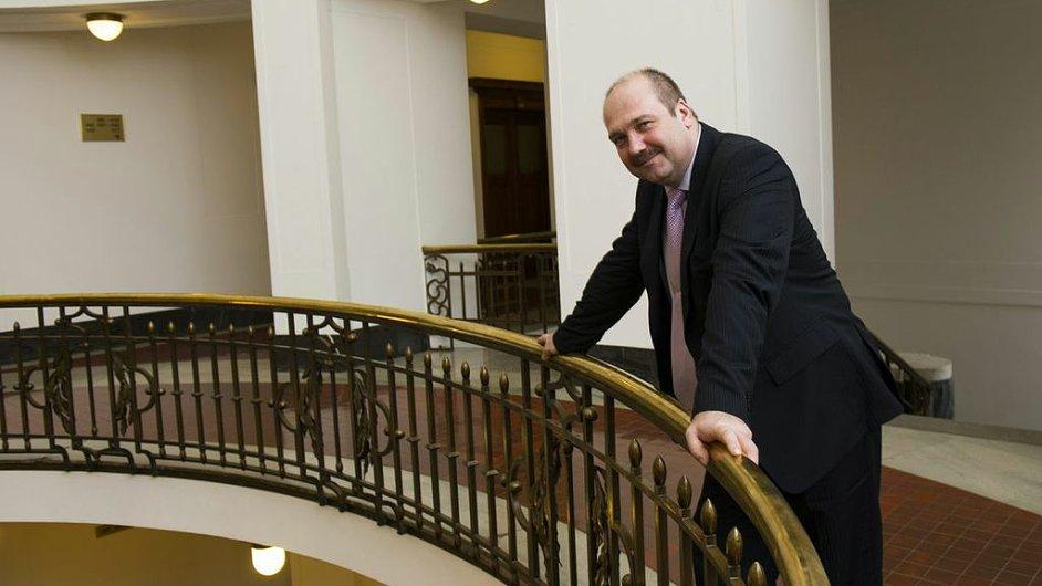 Náměstek ministra průmyslu a obchodu Pavel Šolc