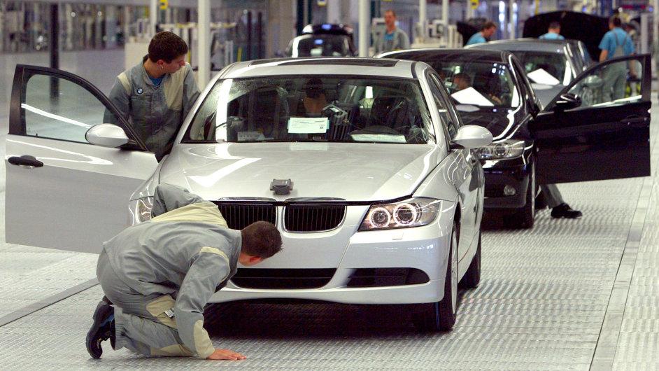 Továrna BMW v Lipsku.