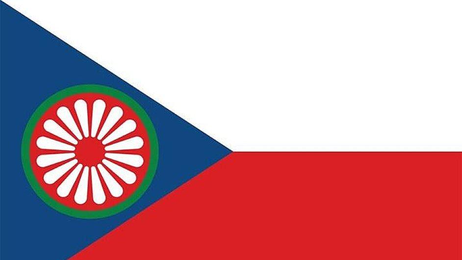 Návrhy česko-romské vlajky