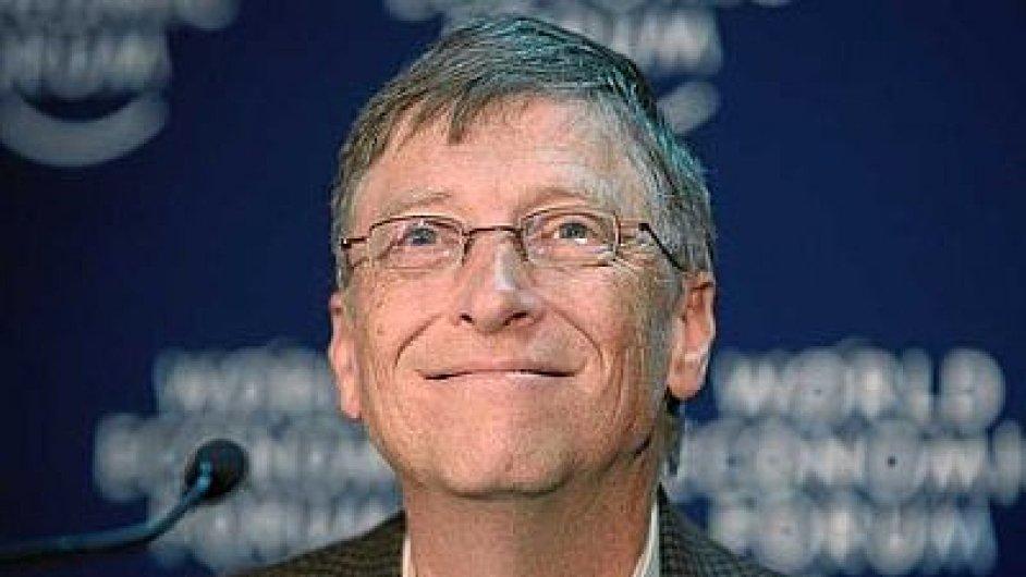 Bývalý generální ředitel Microsoftu Bill Gates opět prodal část svých akcií. (ilustrační foto)