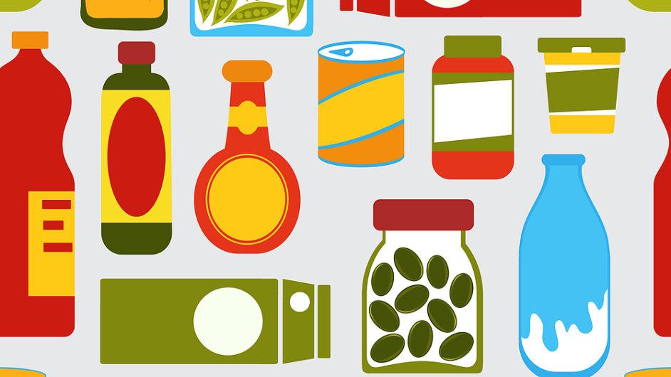 obaly a potravinove produkty