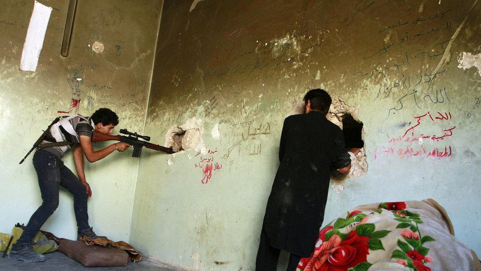 Svobodná syrská armáda v Aleppu