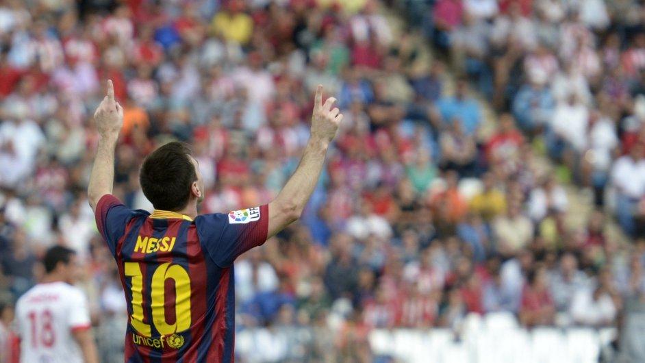 Lionel Messi právě překonal Raúla