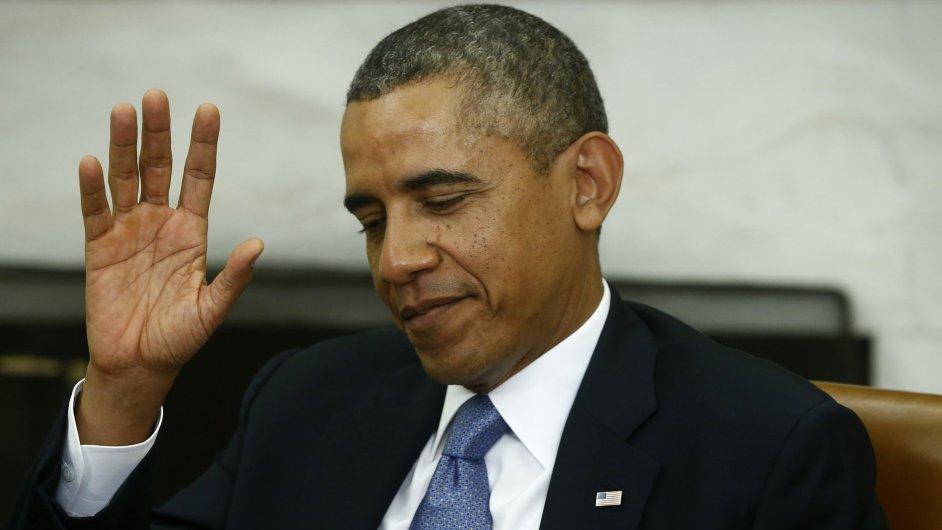 Barack Obama, byť demokrat, za svůj oblíbený golf zřejmě nijak zvlášť bojovat nebude.