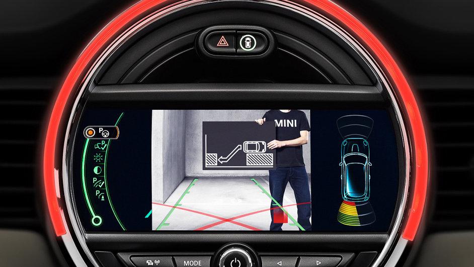 Technologie na palubě vozů Mini příští generace