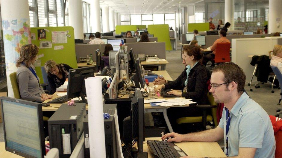 Kancelář, ilustrační foto