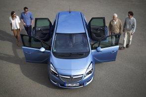 Revolucionář Opel Meriva dál boří hranice. Nasazuje nejsilnější naftový motor mezi malými MPV