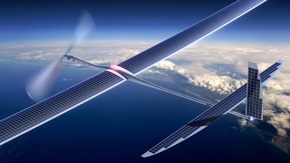 Titan Aerospace vyrábí bezpilotní letadla na solární pohon. (Na obrázku model Solara 50)