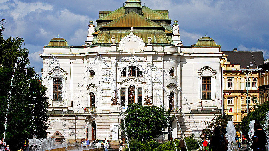 Budova ústeckého Severočeského divadla opery a baletu