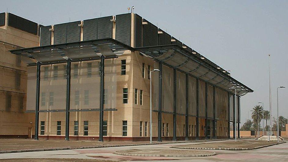 Americká ambasáda v Bagdádu