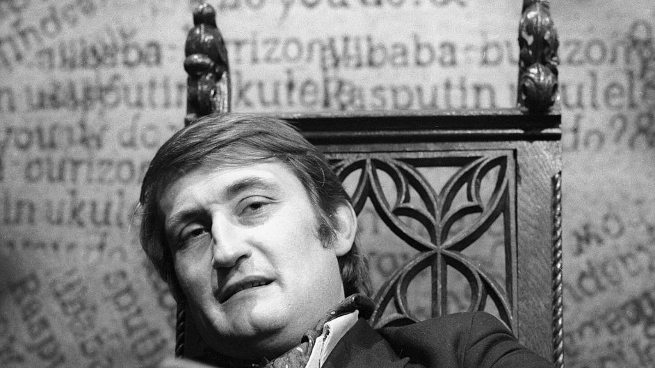 Pavel Landovský na snímku z roku 1968.