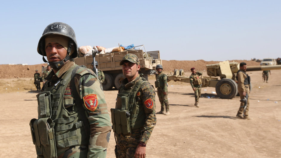 Kurdští vojáci.
