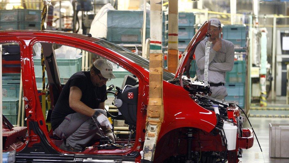 Továrna na automobily TPCA v Ovčárech u Kolína