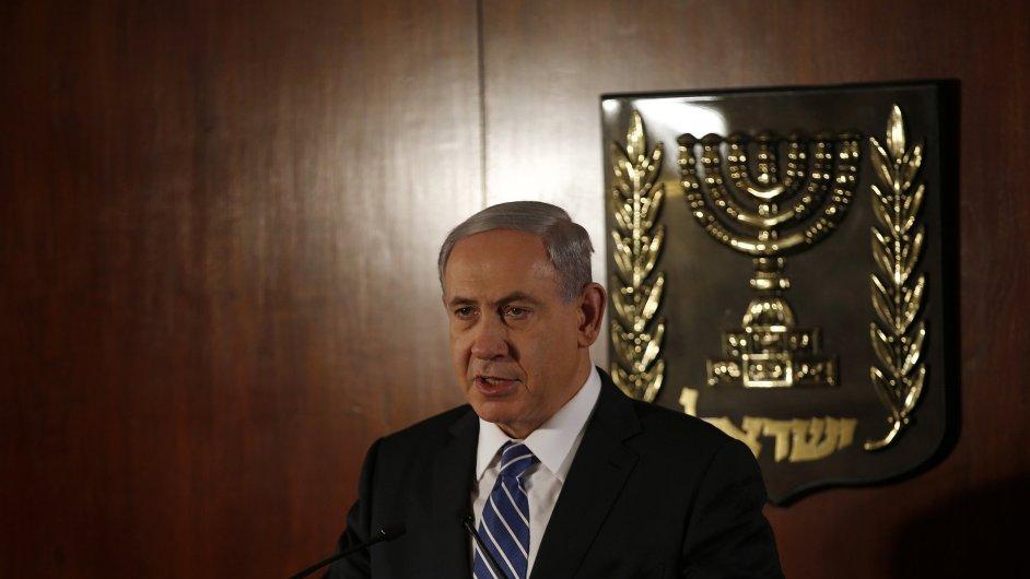 Premiér Netanjahu slíbil využít všech prostředků k ukončení útoků na izraelské občany.