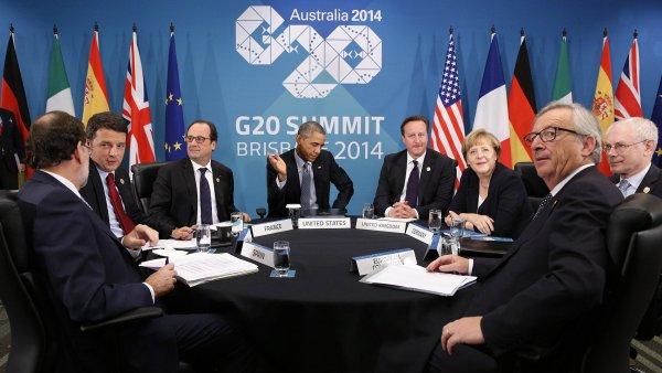 Jedn�n� ��sti l�dr� G20 (ilustra�n� foto)