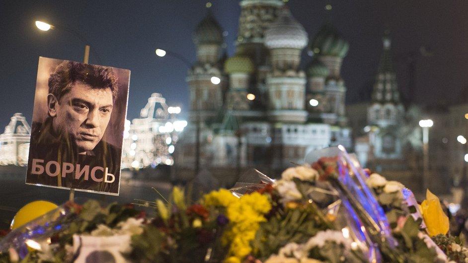 Pieta za Borise Němcova.