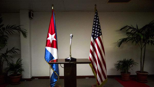 Vztahy mezi USA a Kubou po nástupu prezidenta Donalda Trumpa ochladly - Ilustrační foto.