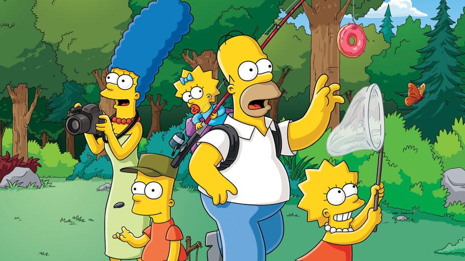Simpsonovi budou celý svět bavit i nadále.