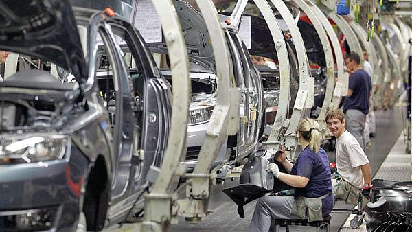 Výroba osobních aut od ledna do konce listopadu vzrostla o 4,5 procenta na 1,21 milionu vozů – ilustrační foto.