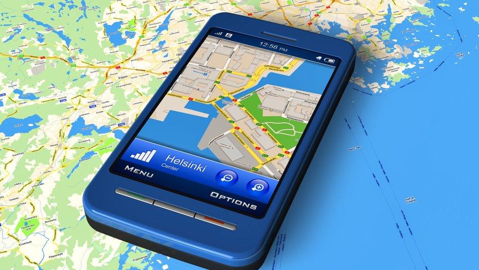 V nejrozšířenějších chytrých telefonech najdete předinstalované mapy od Googlu.