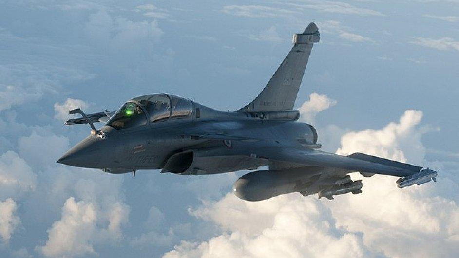 Francie k útokům užila letouny Rafale - Ilustrační foto.