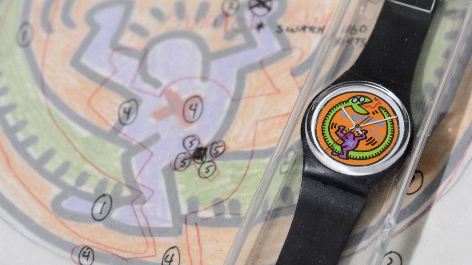 Dražba hodinek Swatch