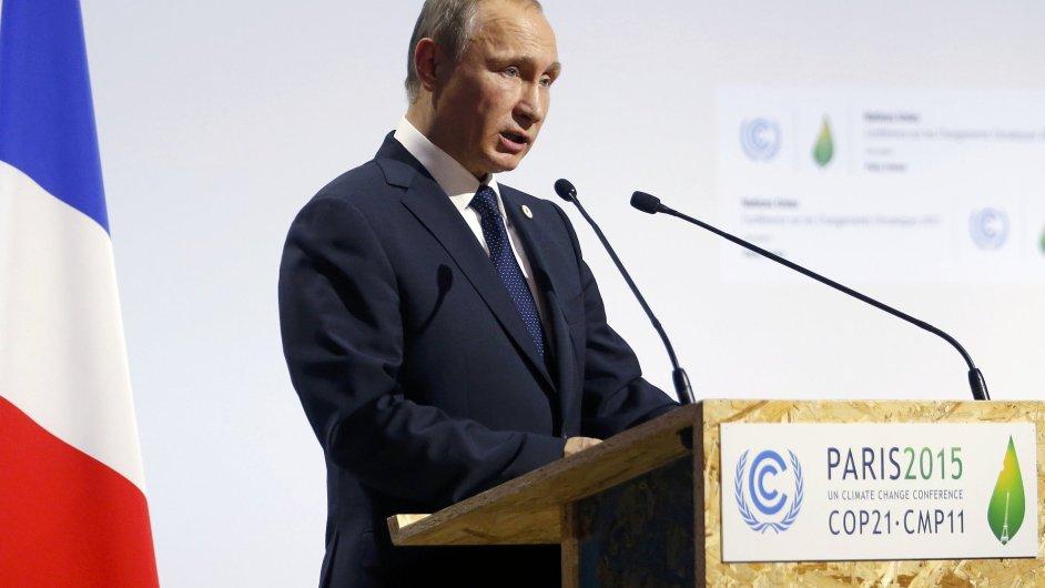Klimatický summit, Paříž. Vladimir Putin