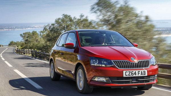 Škoda Auto prodala domácnostem třikrát víc Fabií než v roce 2014.