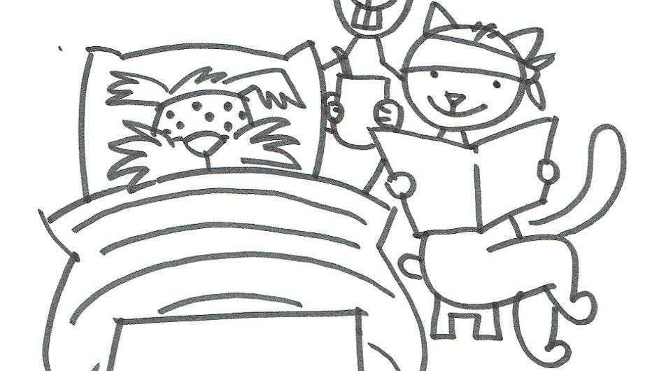Nové povídání o pejskovi a kočičce ilustroval Jaroslav Milfajt.