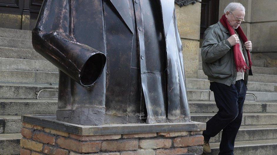 Snímek z výstavy Jiřího Černického