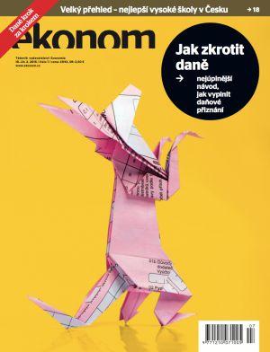 obalka Ekonom 2016 7