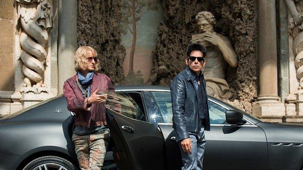 Owen Wilson a Ben Stiller na snímku z filmu Zoolander No. 2.