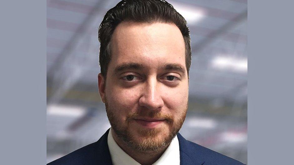 Martin Stratov, manažer pro pronájem a výstavbu společnosti Prologis na Slovensku
