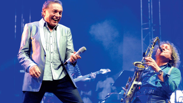 Karel Gott na festivalu Rock for People 2013