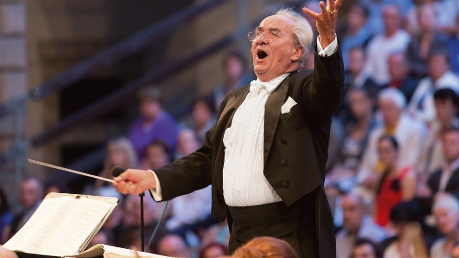 Mahlerovu Symfonii tisíců bude v Litomyšli dirigovat třiasedmdesátiletý slovenský rodák Ondrej Lenárd.
