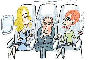 Byznysmeni v oblac�ch: �e�t� mana�e�i rad�, jak p�e��t a t�eba si i u��t cestov�n� letadlem