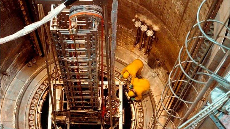 Ilustrační foto - Škoda JS, údržba jaderného reaktoru