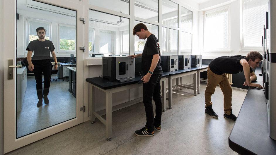 3D tiskárny na prosecké průmyslovce.