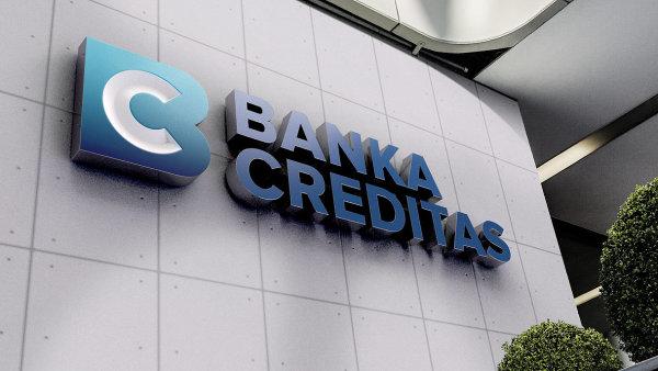 Bance Creditas stoupl letos zisk o 29 milionů na 31 milionů Kč.