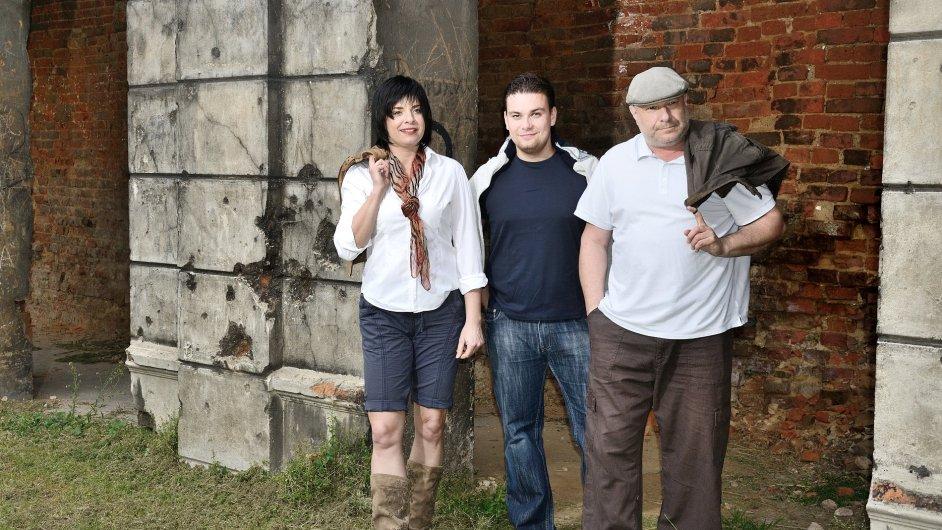 Smetanovo trio tvoří klavíristka Jitka Čechová, houslista Jiří Vodička a violoncellista Jan Páleníček.