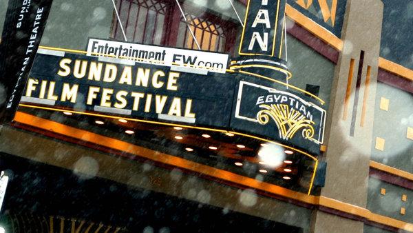 Na festivalu Sundance majitelé lístků čekají v jedné obrovské frontě ve stanu před kinem, bez ohledu na typ akreditace.