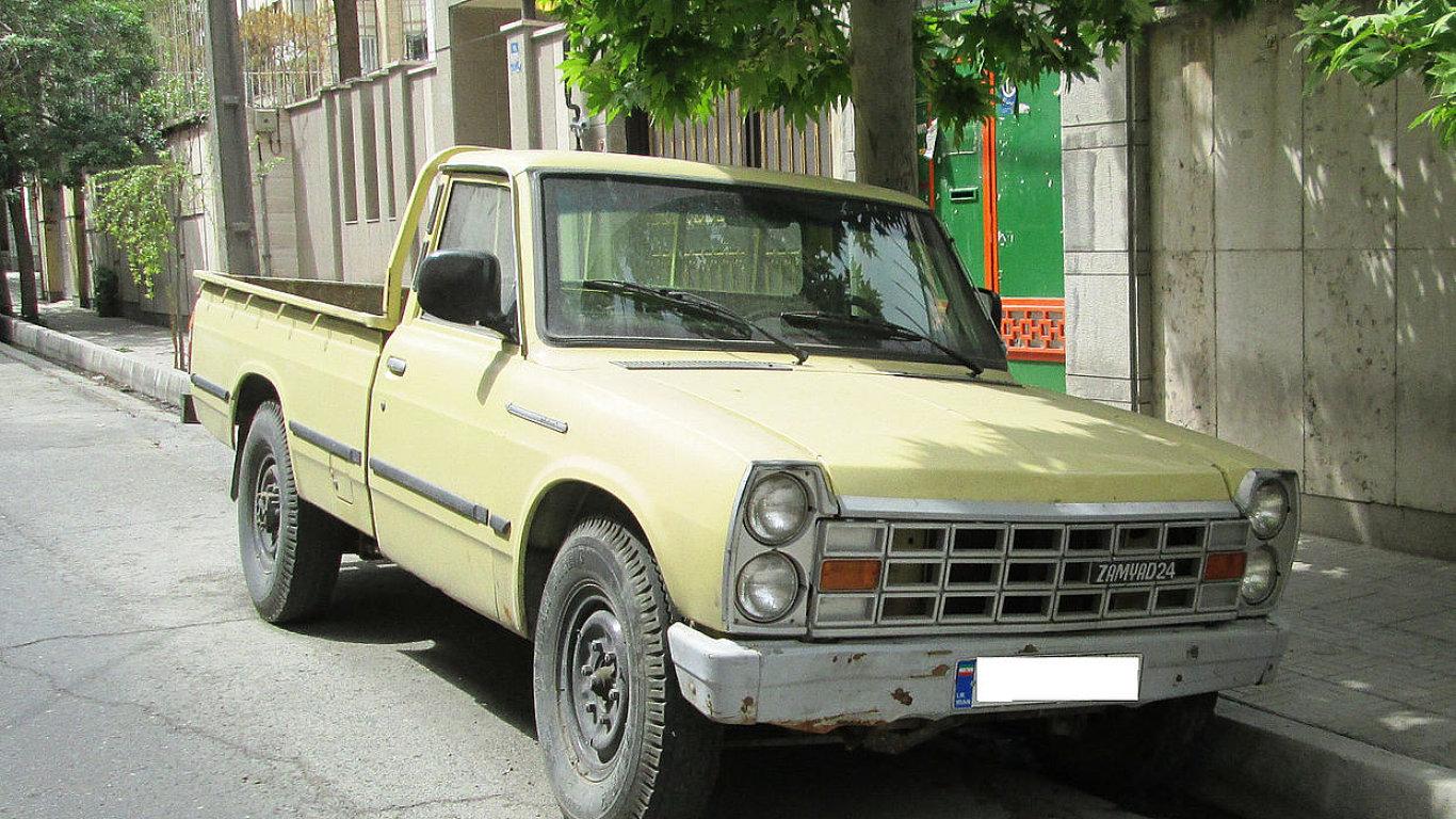 Nissan Junior 3rd generation (Zamyad 24), Iranian built