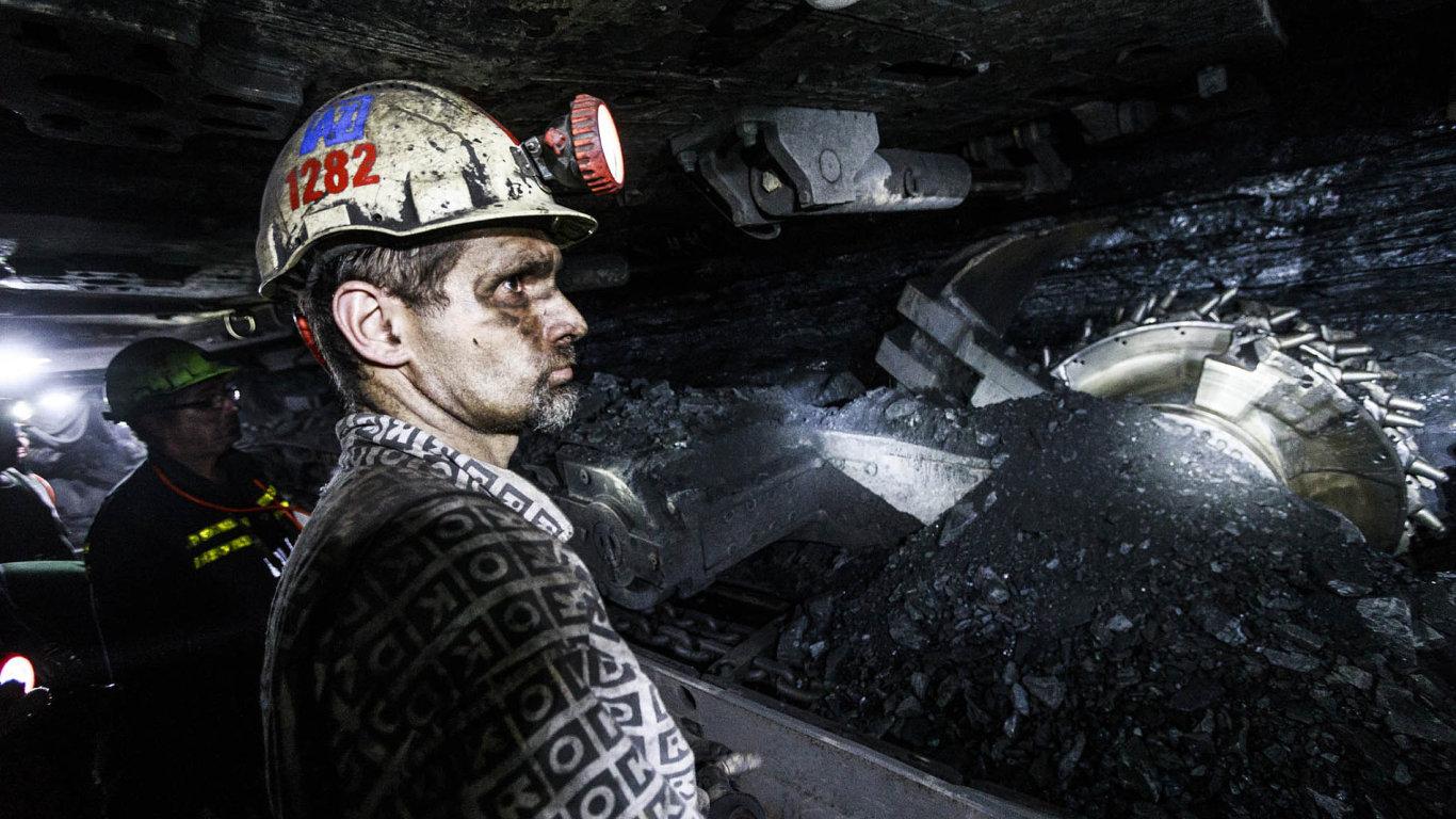 Hlubinná těžba černého uhlí (jako v českém OKD) je nyní vzhledem k jeho cenám na trhu ztrátová.
