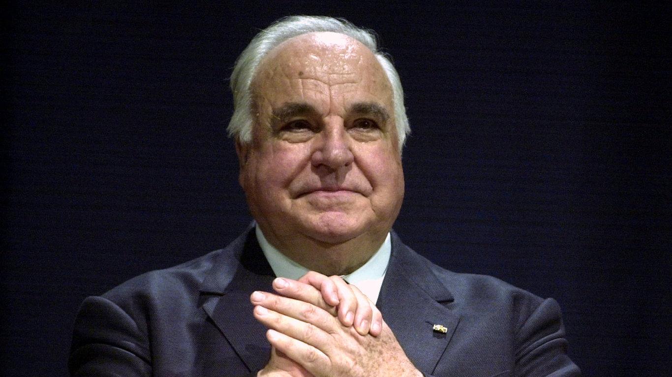 Exkancléř Německa Helmut Kohl