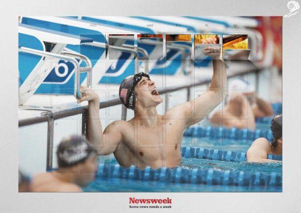 Reklama na Newsweek od Y&R Prague