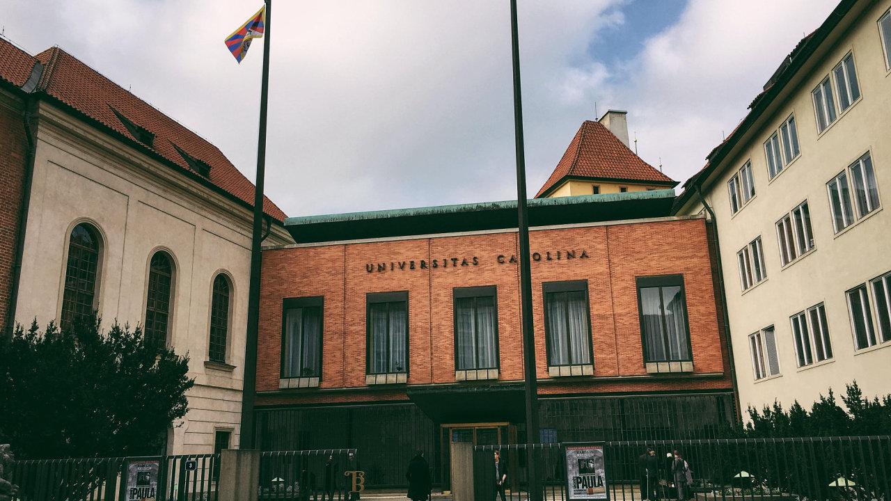 Univerzita Karlova, vlajka pro Tibet