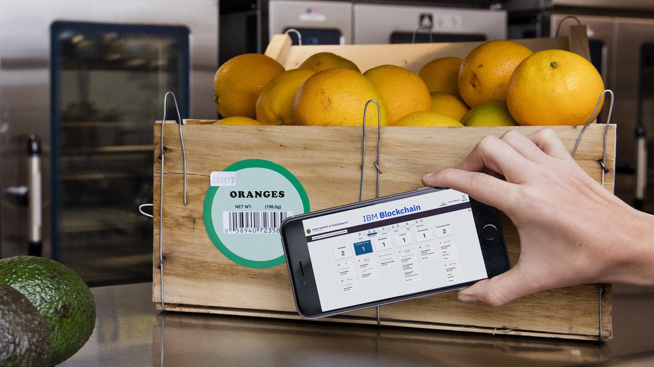 IBM spolupracuje na platformě Blockchain s celosvětovými potravinářskými řetězci