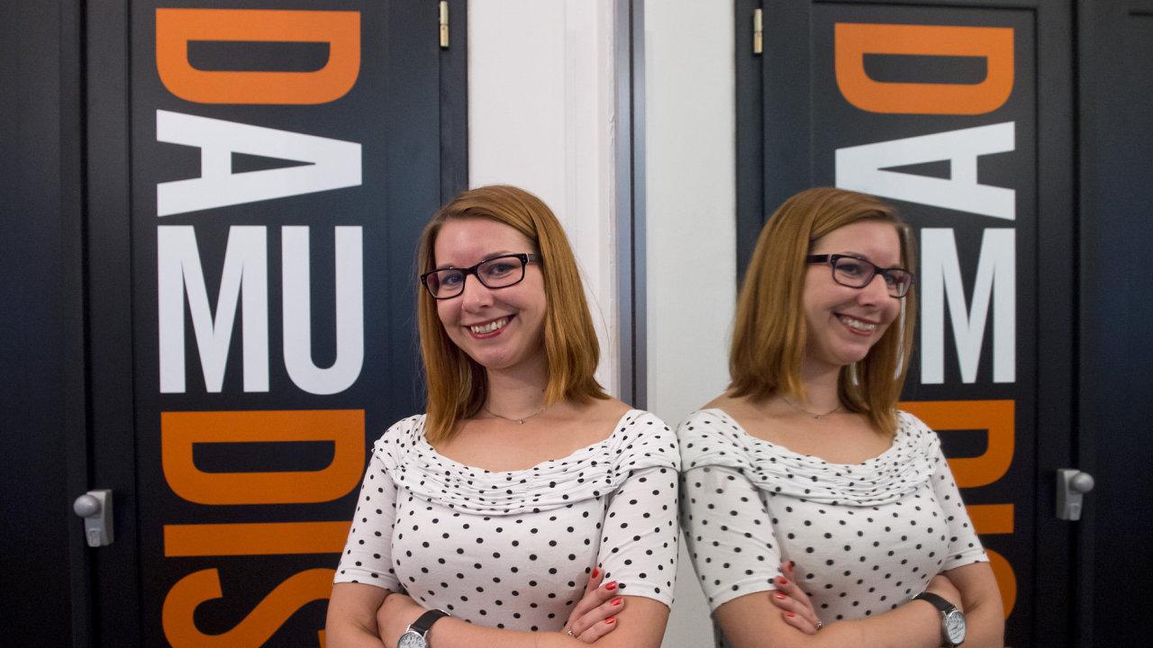 Nová šéfka Disku Tereza Sochová je bývalou studentkou DAMU.