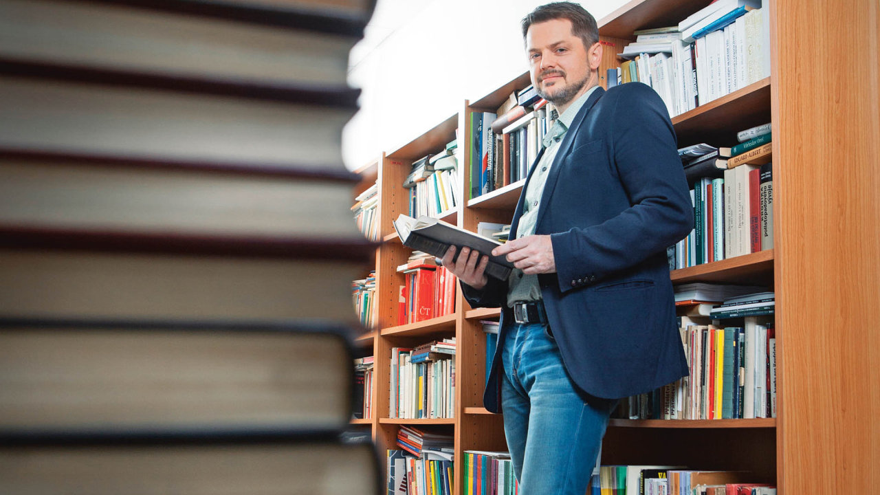 Historik Michal Kopeček.